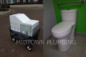 Toilet replacement or repair